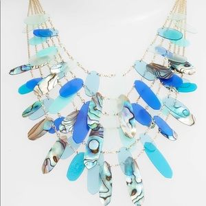 Kendra Scott Patricia necklace in abalone